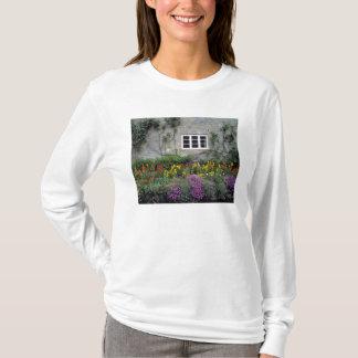 Europe, England, Teffont Magna. Flowers fill T-Shirt