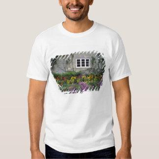 Europe, England, Teffont Magna. Flowers fill T Shirt