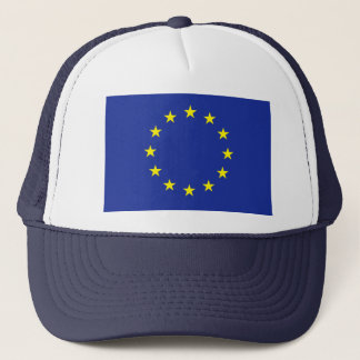 Europe EU European flag Trucker Hat