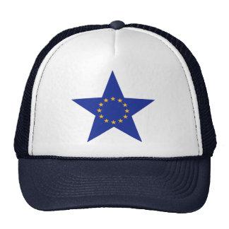 Europe EU star flag Cap