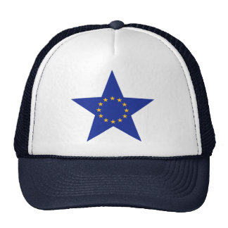 Europe EU star flag Mesh Hat