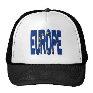 Europe + Flag Cap