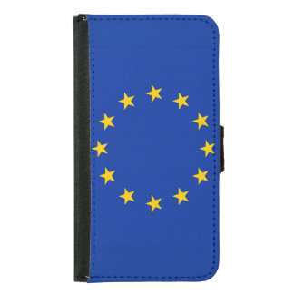 Europe flag samsung galaxy s5 wallet case