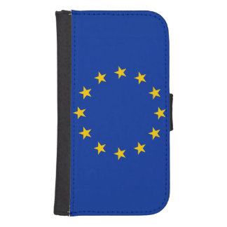 Europe flag samsung s4 wallet case