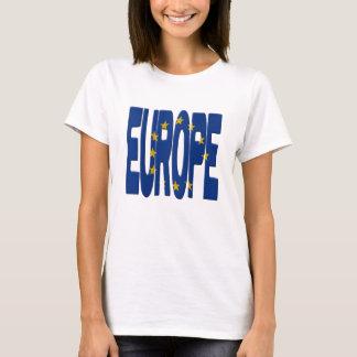 Europe + Flag T-Shirt