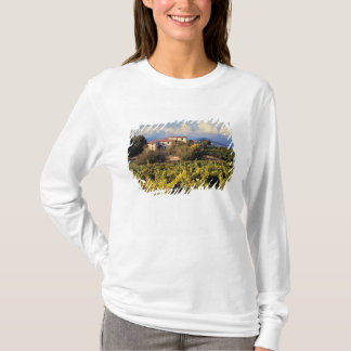 Europe, France, Bonnieux. Vineyards cover the T-Shirt