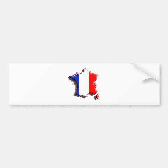 Europe: France Bumper Sticker