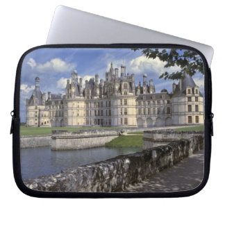 Europe, France, Chambord. Imposing Chateau Laptop Sleeve
