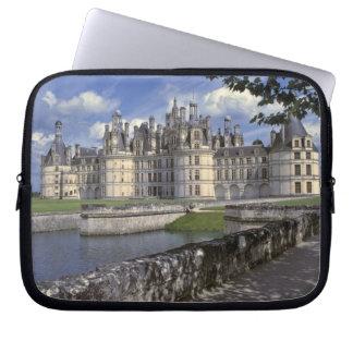 Europe, France, Chambord. Imposing Chateau Laptop Sleeves