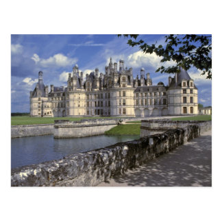 Europe, France, Chambord. Imposing Chateau Postcard