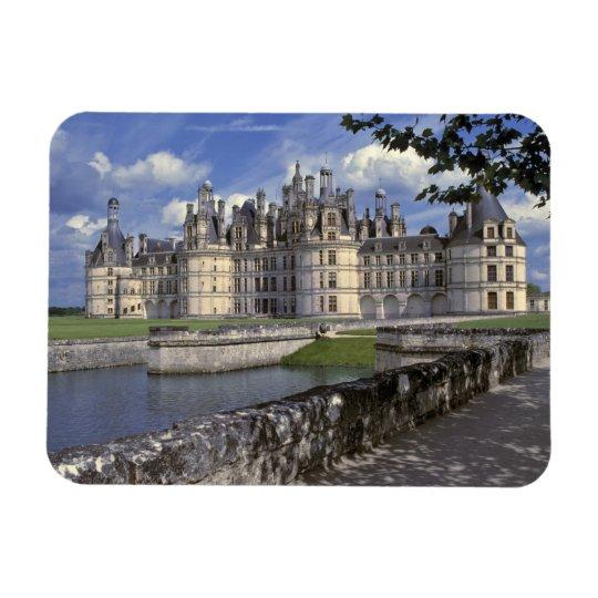 Europe, France, Chambord. Imposing Chateau Rectangular Photo Magnet