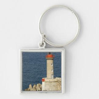 Europe, France, Corsica, Bastia.  Port Key Ring