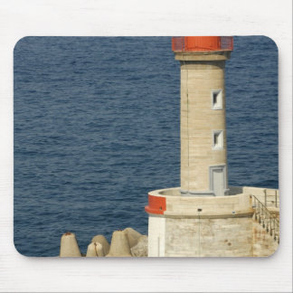 Europe, France, Corsica, Bastia.  Port Mouse Mat