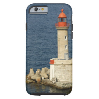 Europe, France, Corsica, Bastia.  Port Tough iPhone 6 Case