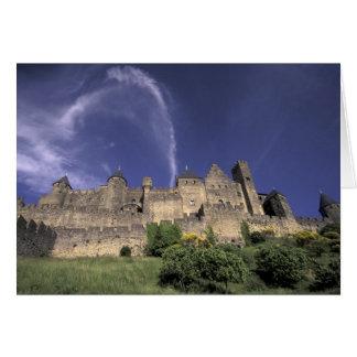 Europe, France, Languedoc; Aude; Carcassonne, Card
