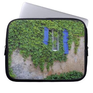 Europe, France, Lourmarin. Cascading ivy Laptop Sleeve