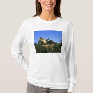 Europe, France, Montforte. The medieval castle T-Shirt