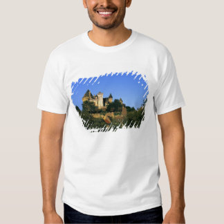 Europe, France, Montforte. The medieval castle Tees