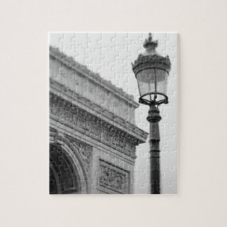 Europe, France, Paris. Arc de Triomphe and Jigsaw Puzzle