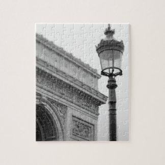 Europe, France, Paris. Arc de Triomphe and Jigsaw Puzzle