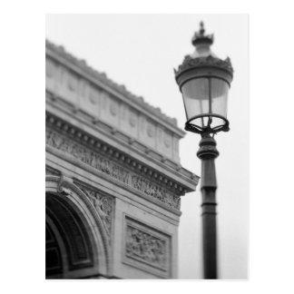 Europe France Paris Arc de Triomphe and Post Card