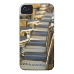 Europe, France, Paris, Beaubourg: Cafe Tables / Case-Mate iPhone 4 Case