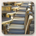 Europe, France, Paris, Beaubourg: Cafe Tables / Drink Coasters