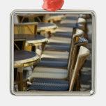 Europe, France, Paris, Beaubourg: Cafe Tables / Ornaments