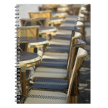 Europe, France, Paris, Beaubourg: Cafe Tables / Note Book