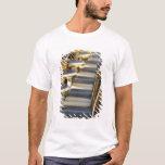 Europe, France, Paris, Beaubourg: Cafe Tables / T-Shirt