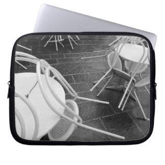 Europe, France, Paris. Chairs, Jardin du 4 Laptop Sleeve