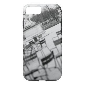 Europe, France, Paris. Chairs, Jardin du iPhone 8/7 Case
