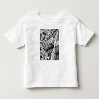 Europe, France, Paris. Detail of Left Bank hotel Toddler T-Shirt