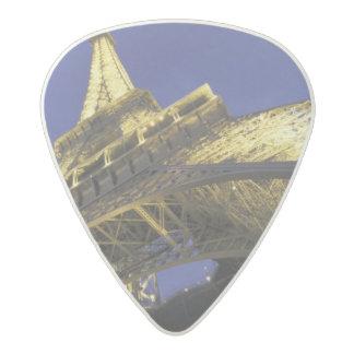 Europe, France, Paris, Eiffel Tower, evening 2 Acetal Guitar Pick