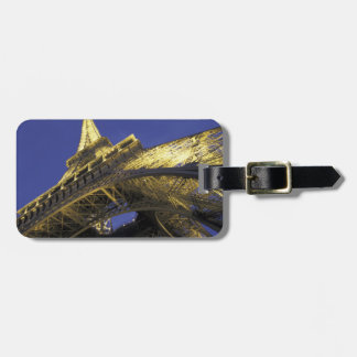 Europe, France, Paris, Eiffel Tower, evening 2 Bag Tag