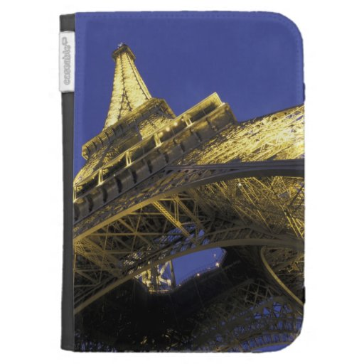 Europe, France, Paris, Eiffel Tower, evening 2 Kindle 3 Cover