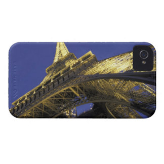 Europe, France, Paris, Eiffel Tower, evening 2 Case-Mate iPhone 4 Case