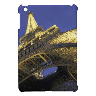 Europe, France, Paris, Eiffel Tower, evening 2 Cover For The iPad Mini
