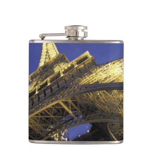 Europe, France, Paris, Eiffel Tower, evening 2 Flasks