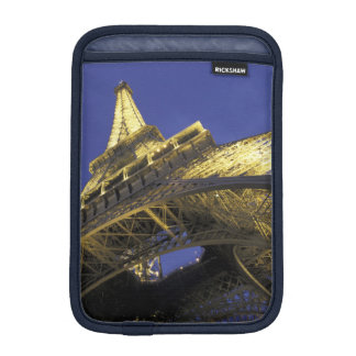 Europe, France, Paris, Eiffel Tower, evening 2 iPad Mini Sleeve