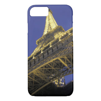 Europe, France, Paris, Eiffel Tower, evening 2 iPhone 7 Case