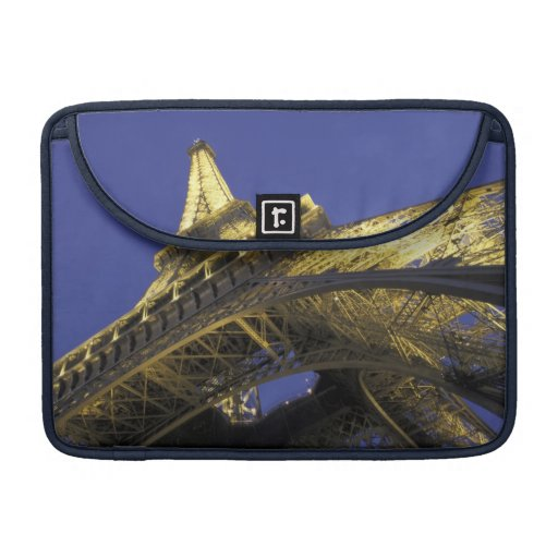 Europe, France, Paris, Eiffel Tower, evening 2 Sleeve For MacBook Pro
