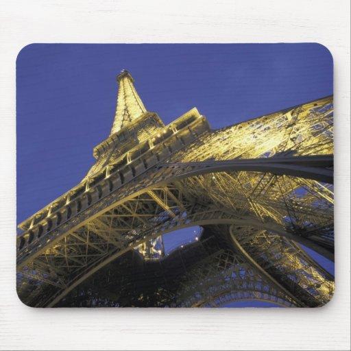 Europe, France, Paris, Eiffel Tower, evening 2 Mousepads