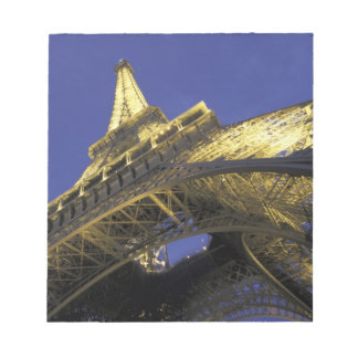 Europe, France, Paris, Eiffel Tower, evening 2 Notepad