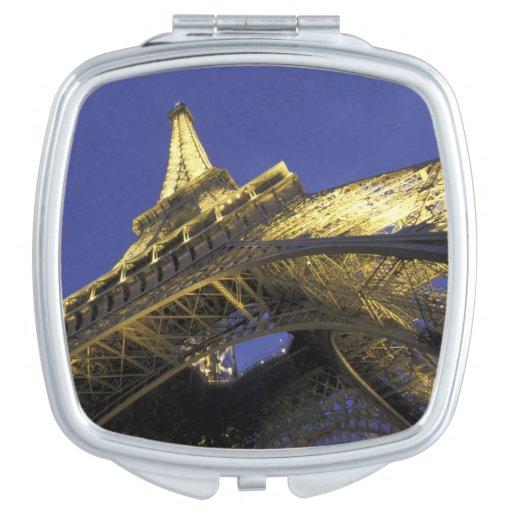 Europe, France, Paris, Eiffel Tower, evening 2 Travel Mirror