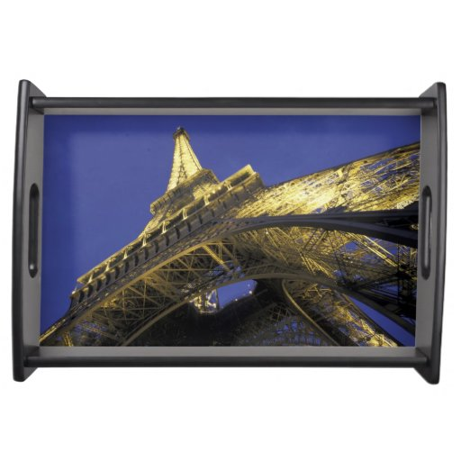 Europe, France, Paris, Eiffel Tower, evening 2 Service Trays