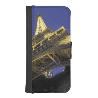 Europe France Paris Eiffel Tower evening 2 Phone Wallets