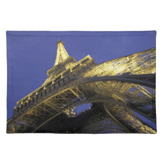 Europe, France, Paris, Eiffel Tower, evening 2 Placemat