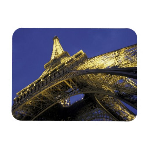 Europe, France, Paris, Eiffel Tower, evening 2 Vinyl Magnets