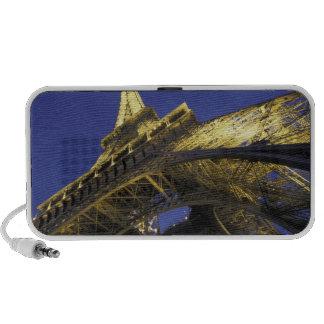 Europe, France, Paris, Eiffel Tower, evening 2 Travel Speakers